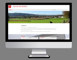 Strona internetowa dla instytucji samorządowej
